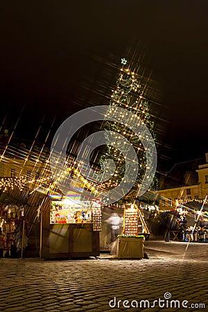 Christmas market in Tallilinn Old Town