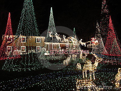 Christmas in the Maryland Suburbs