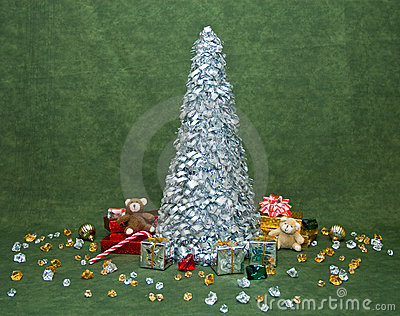 Christmas Morning Scene Decor