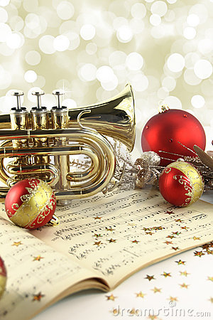 Free Christmas Music Royalty Free Stock Photos - 22120478