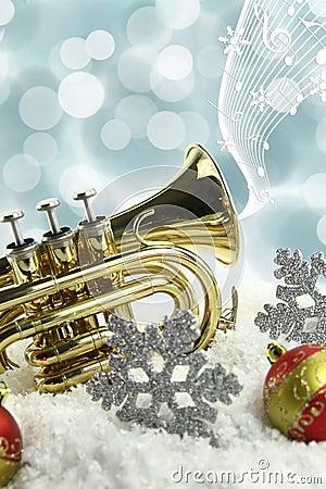 Free Christmas Music Royalty Free Stock Photo - 22134475