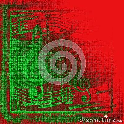 Christmas Musical Grunge