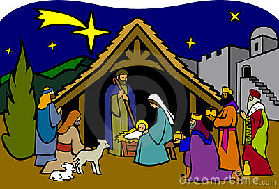 Christmas Nativity/eps Royalty Free Stock Photography - Image: 5899697