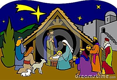 Christmas Nativity/eps