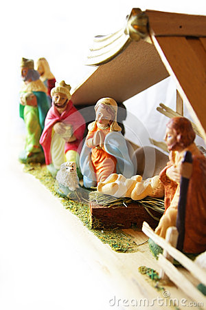 Christmas - nativity scene.