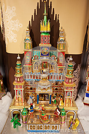 Christmas Nativity Scene, Krakow, Poland