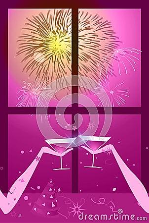 Christmas - New year celebration