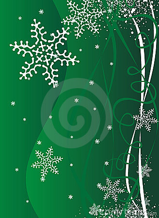 Christmas / New Year illustration background