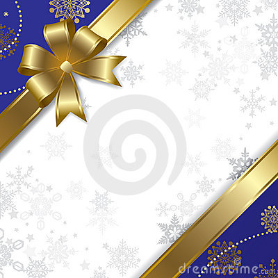 Free Christmas & New-Year S Gold Parchment Stock Images - 7294544