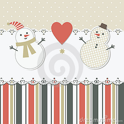 Christmas and New Year s greeting card