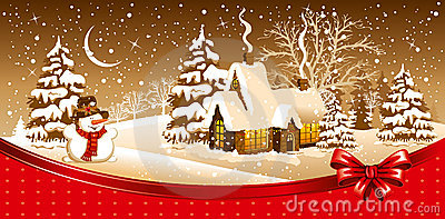 Christmas Night Stock Photos - Image: 21399043