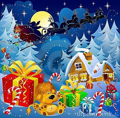 Christmas night magic