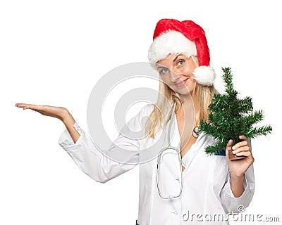 Christmas nurse