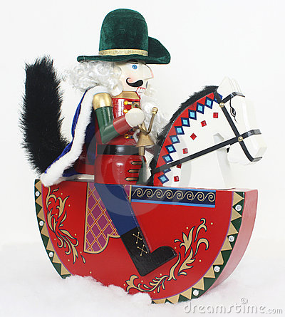 Free Christmas Nutcracker On A Horse Stock Images - 20899894