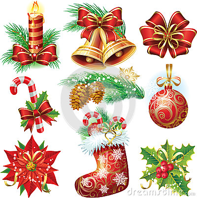 Free Christmas Objects Royalty Free Stock Image - 27312106