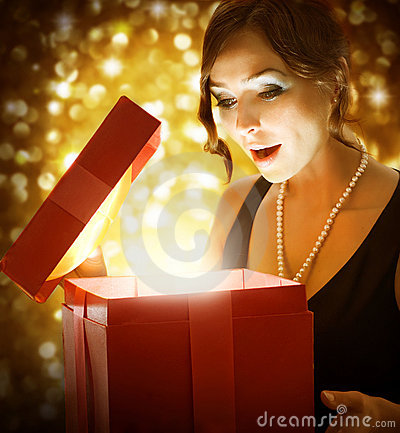 Free Christmas Or New Years Gift Stock Images - 17188084