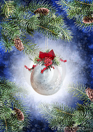 Free Christmas Ornament Royalty Free Stock Photos - 22387808
