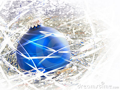 Christmas ornament abstract