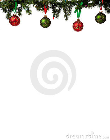 Free Christmas Ornament Border Stock Images - 11665664
