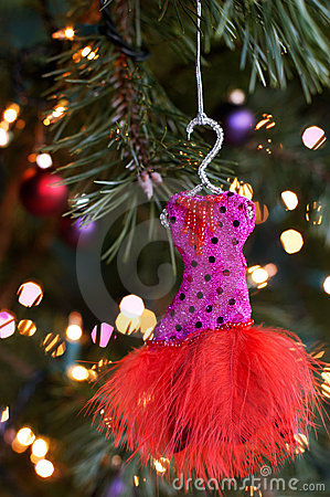 Free Christmas Ornament Dress Royalty Free Stock Photo - 20944725