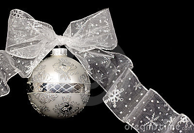 Christmas Ornament (Silver)