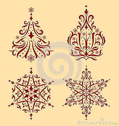 Free Christmas Ornaments. Royalty Free Stock Image - 46803716