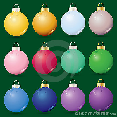 Free Christmas Ornaments Royalty Free Stock Photos - 9884358