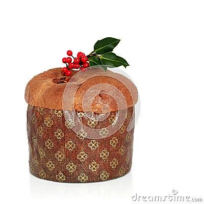 Free Christmas Panetone Cake Stock Images - 11041084