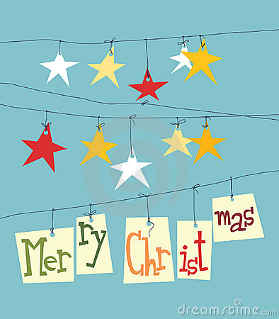 Christmas paper stars