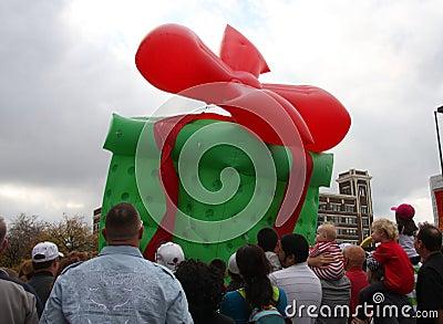 Christmas parade Editorial Photo