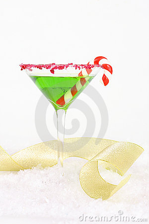 Free Christmas Party Drink Cocktail Royalty Free Stock Photo - 364545