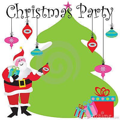 christmas party invitation stock images  image, invitation samples