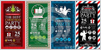 Christmas Party Invitation Card Vector Image 50442441 – Christmas Party Invitation Card