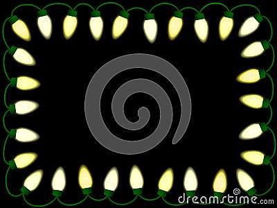Christmas/party lights border