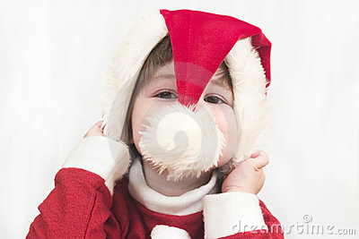 Christmas Peekaboo 1