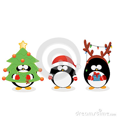 Christmas Penguin Set
