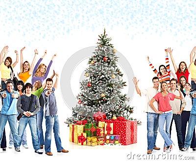 Christmas people