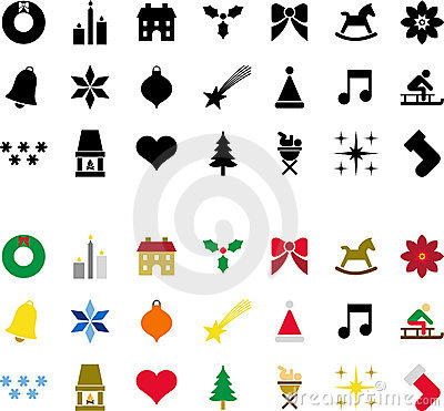 Christmas pictograms