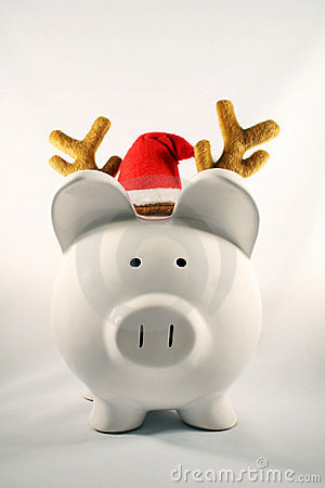Christmas Pig Royalty Free Stock Photography Image 3221237