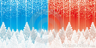 Christmas pines backgrounds