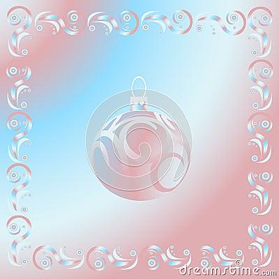 Christmas pink ball