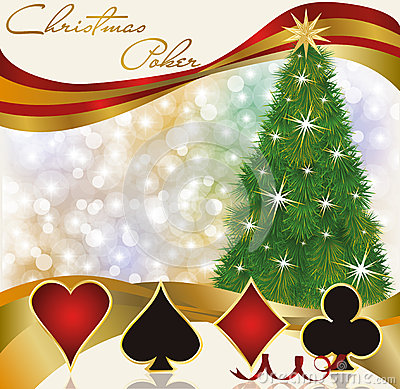 Casino christmas party invitations