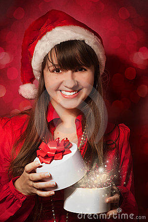 Free Christmas Portrait Royalty Free Stock Image - 16941536
