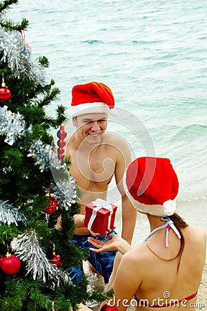 Christmas present giving