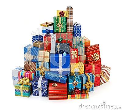 Free Christmas Presents Royalty Free Stock Photo - 22209865