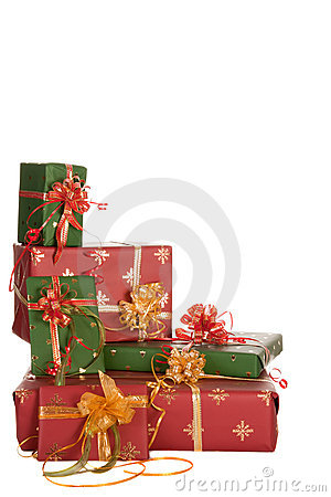 Free Christmas Presents Corner Stock Images - 16830634