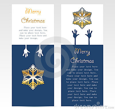 Christmas promotion card design