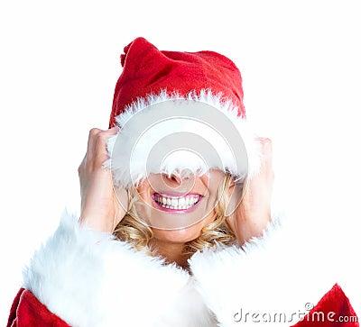 Christmas - pulling the wool over santas head