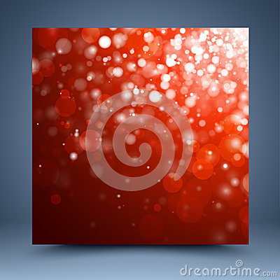 Christmas red abstract background