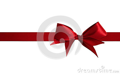 Christmas Red Bow